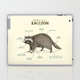 Anatomy of a Raccoon Laptop & iPad Skin