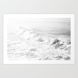 Pacific Ocean from Manhattan Beach Art Print