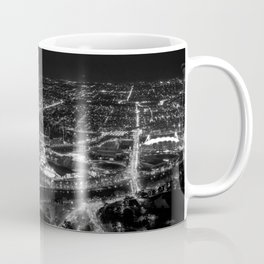 View of East Melbourne and surrounds from the Eureka Skydeck Coffee Mug
