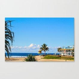 Kirra Beach Canvas Print