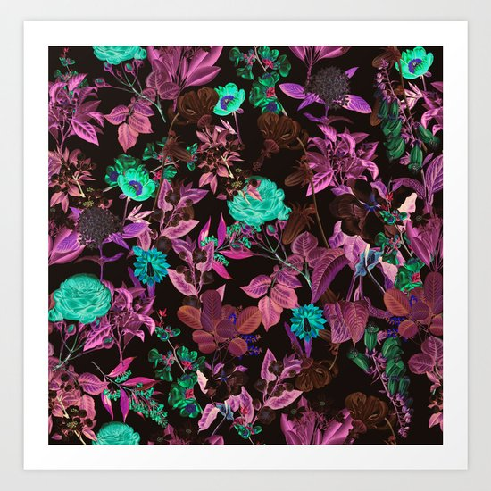 Ambiance Floral Art Print