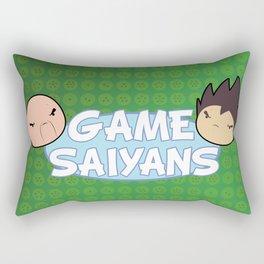 Two Saiyans Play (Game Grumps Style)  Rectangular Pillow