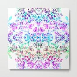 Floral Poise Metal Print