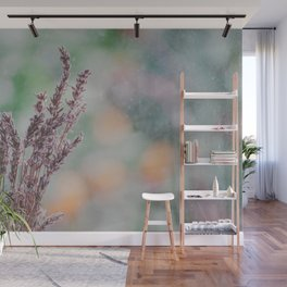 Lavender by the window Wall Mural