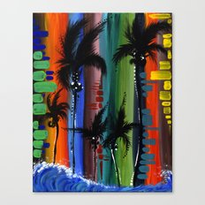 """""""COLOR IN PARADISE""""  Canvas Print"""