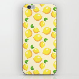 Lemon limon seamless art colour lines triangle look rest eyes color new artist fun mixed pattern swe iPhone Skin