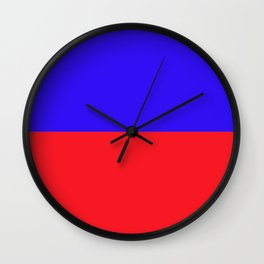 E is for Echo Wall Clock