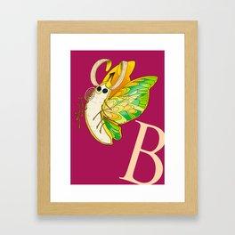 B is for... Framed Art Print
