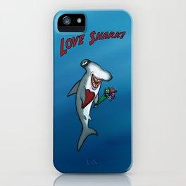 Love Shark! iPhone Case