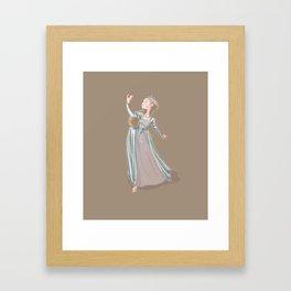 Katherine Howard - fifth Henri VIII wife Framed Art Print