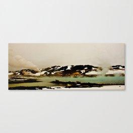 Mars terraforming Canvas Print