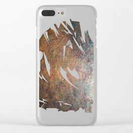 Elements of Copper Clear iPhone Case