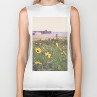 daisies Biker Tanks featuring Daisies by AnchorMySoul