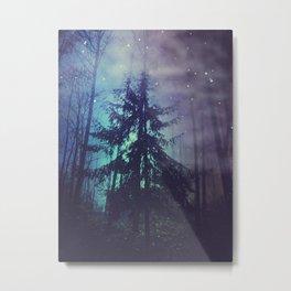luminous forest Metal Print