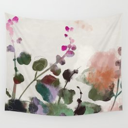 floral abstract summer autumn Wall Tapestry