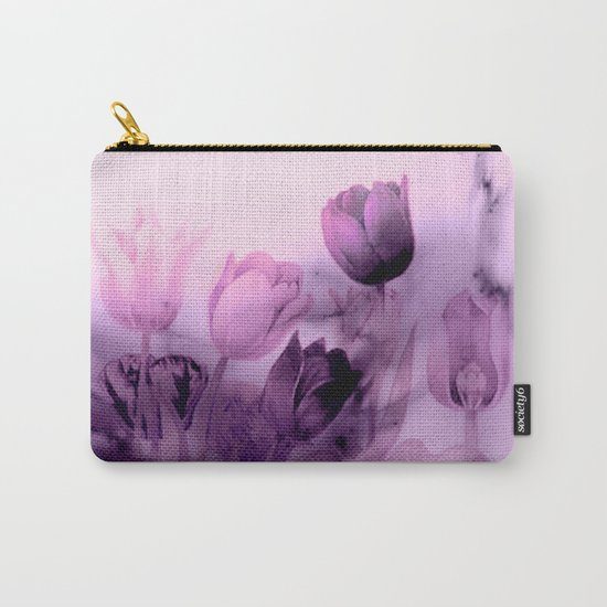 tulips through smoke Carry-All Pouch
