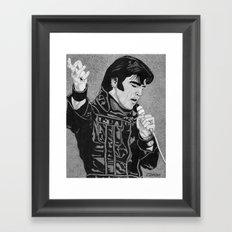 ELVIS '68 Framed Art Print