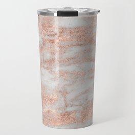 Martino rose gold marble Travel Mug