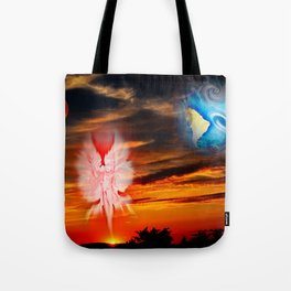 Full moon - Fascination Blood moon Tote Bag