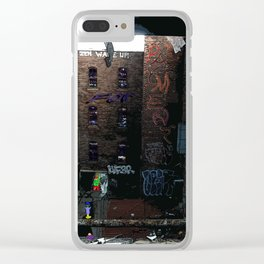 Time for Payment Clear iPhone Case