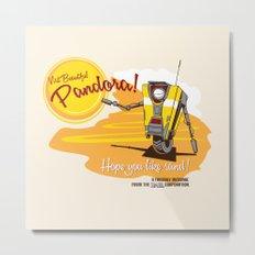 Visit Pandora! Metal Print