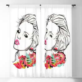 Lips Blackout Curtain