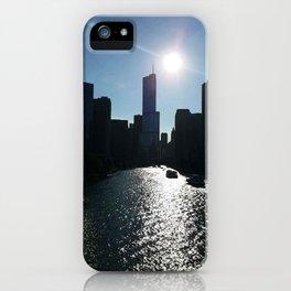 Summer in Chicago iPhone Case