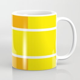 Team Colors 6...yellow,orange Coffee Mug
