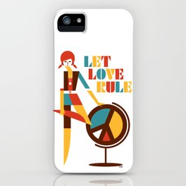 Hippie Chick iPhone Case
