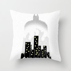 There, in the shadows!  Throw Pillow
