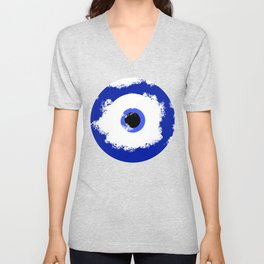The Evil Eye Unisex V-Neck