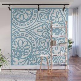 Dulce Wedgwood Blue Wall Mural