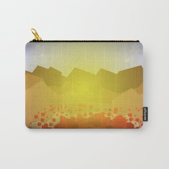Icelandic volcano Carry-All Pouch