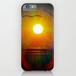 Abstract in perfection - Fertile Imagination sunrise iPhone Case