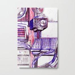 METWAY STUDIO BRIGHTON Metal Print