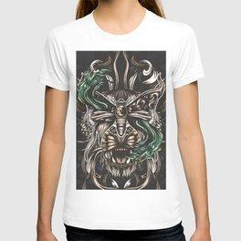 Moth and tiger T-shirt