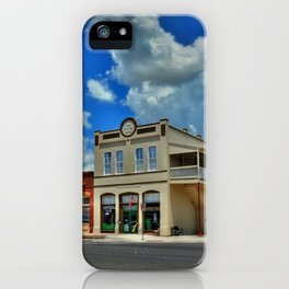 GIDDINGS iPhone Case