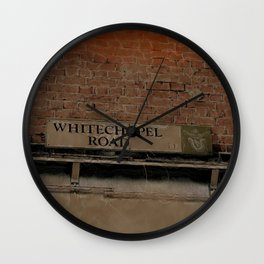 Old Haunts - Whitechapel Road,  London Wall Clock