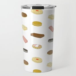 biscui - biscuit pattern Travel Mug