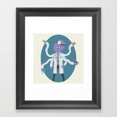 Doctopus! Framed Art Print