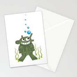 frogmen Stationery Cards