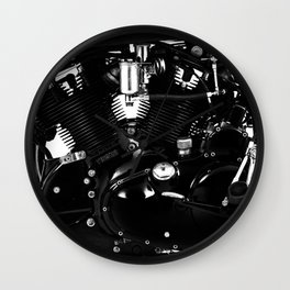 The Black Shadow 988cc Wall Clock