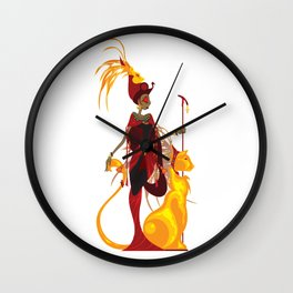 Sekhmet Wall Clock