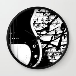 Precision Bass Guitar - Dee Dee R. Wall Clock