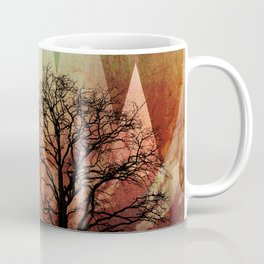 TREES under MAGIC MOUNTAINS I Coffee Mug