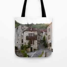 That Village in the French Countryside Tote Bag