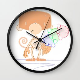 Whistle and Splat Wall Clock