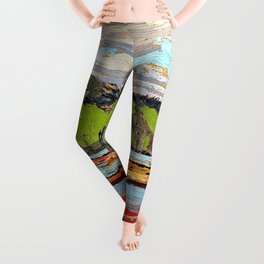 Tom Thomson - Boats - Digital Remastered Edition Leggings