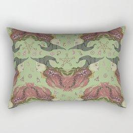 Witchy-Wistera Rectangular Pillow