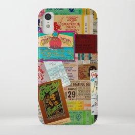 Ticket Stubs Concert Junkie - The Dead iPhone Case